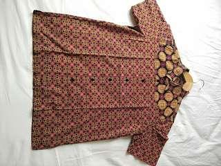 Di jual batik keris 100% catton