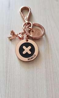 Mimco Rose gold keyring