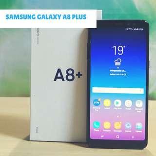 Samsung Galaxy A8 Plus 2018 Smartphone 6/64GB Promo Bunga 0%