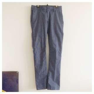 Sleek Slimfit Blue Pants
