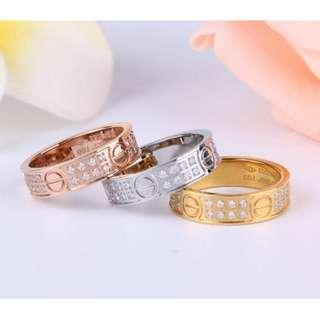 Cartier Love Design Ring