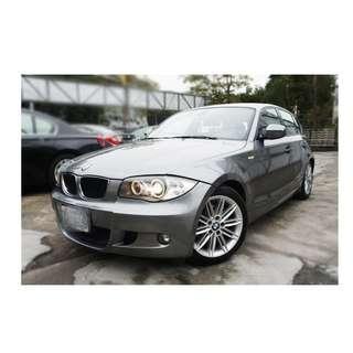 2006年  BMW    120   灰 ✅0頭保人✅低利率✅低月付 款 ✅免FB搜尋:阿源 嚴選二手車/中古車買賣