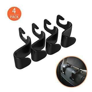 20a0e9fb6 High Quality Practical 4 Pcs Car Vehicle Back Seat Headrest Organizer  Hanger Storage Hook for