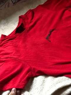 cotton on metallic tee shirt