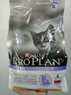 Proplan cat food 1.3kg