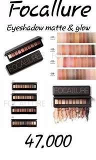 Focallure eyeshadow matte & glow