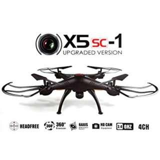 Syma X5SC New Version Syma X5SC - 1 Falcon with 2.0 HD Camera 4 Channel 2.4G RC Quadcopter 6 Axis 3D Flip Fly UFO Syma X5SC RC Quadcopter / New Version Syma X5SC - 1