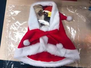 寵物動物聖誕服飾裝飾,聖誕老人 (日本製)  (中小型犬狗隻及貓適用)  原價: $200  Now: 60
