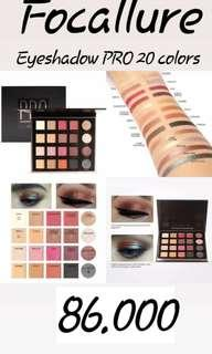 Focallure eyeshadow pro 20 colours