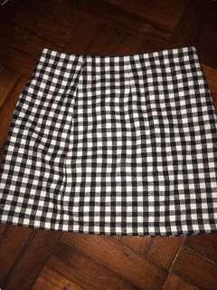 Forever21 Check skirt