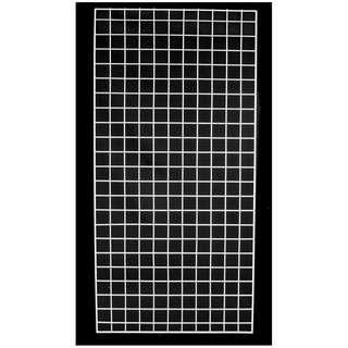 BN wire mesh white display wall mount