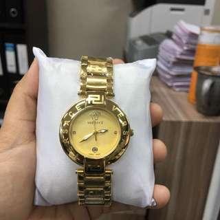 Jam tangan versace / versace watch freeongkit jabodetabek