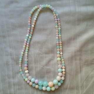 Pastel Beads Necklace