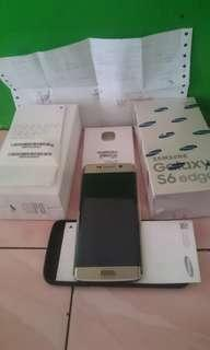 Samsung s6 edge mulus fullset bawaan beli plus nota2 erafone