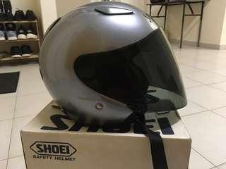helmet shoei jstream grey