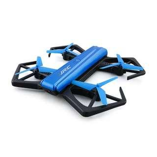 JJRC H43WH Selfie Drone with 720P Camera Foldable Mini Drone (Blue)