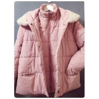 🚚 日系品牌 純色立領加厚外套