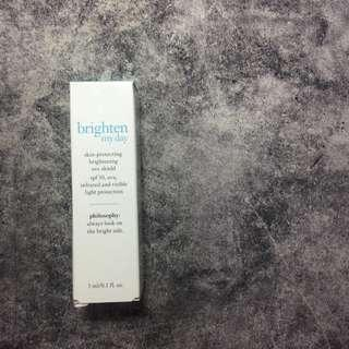 🚚 philosophy 完美亮白防曬修護霜 spf 30 brighten my day