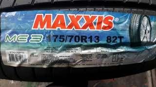彰化員林 瑪吉斯輪胎 正新輪胎 Maxxis me3 75 70 13 (非MAP1 Iceo)  實體店面安裝