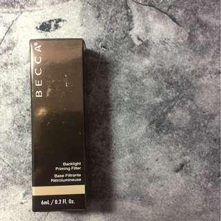 🚚 BECCA backlight priming filter 6 ml