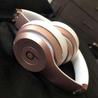 Rose Gold Beat Headphones