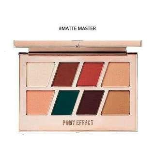 PONY EFFECT Master Eye Palette (12g) Normal price RM152 Sale price ONLY RM100