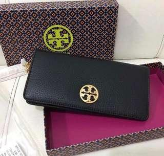 Tory Burch Wallet Black Authentic
