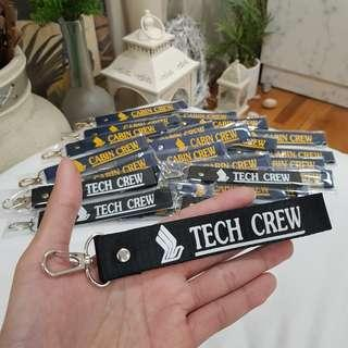 Singapore Airlines Tech Crew Tag