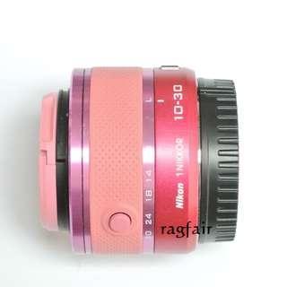 送順豐智能櫃 Nikon 1 NIKKOR VR 10-30mm f/3.5-5.6 桃紅色標準變焦鏡頭 J1 J2 J3 J5 S1 S2 V3 AW1