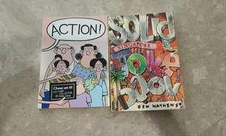 Singapore joke book and chew comic