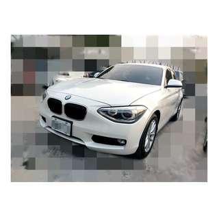 2013年  BMW    116I   白✅0頭保人✅低利率✅低月付 款 ✅免FB搜尋:阿源 嚴選二手車/中古車買賣