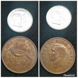 New Zealand penny tone