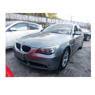 2004年  BMW   525I  灰 ✅0頭保人✅低利率✅低月付 款 ✅免FB搜尋:阿源 嚴選二手車/中古車買賣