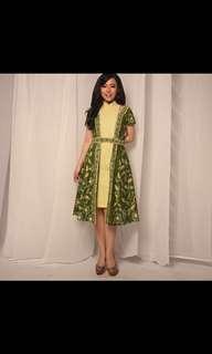 Dea Kultur batik - green dresss