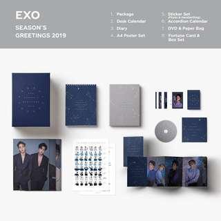 [SHARE] EXO 2019 SEASON GREETINGS
