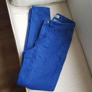 High waist jeans size M