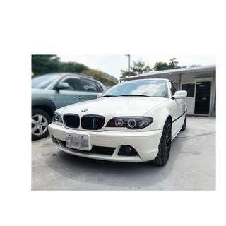 2005年  BMW   318CI   白 ✅0頭保人✅低利率✅低月付 款 ✅免FB搜尋:阿源 嚴選二手車/中古車買賣