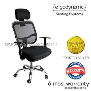 EHB-555 Mesh Office Chair with Headrest Office Furniture