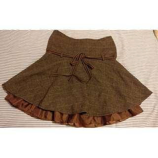 Elements Brown Skirt #JAN50