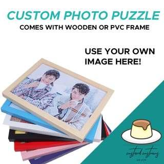 [EXCLUSIVE] Customisable Puzzle + Wooden Frame!