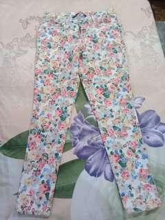 For me flowery pants