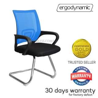 EGC-P2 Mesh Guest Chair, Office Furniture, Clerical chair
