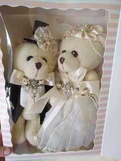 Lovely lace Wedding Bear