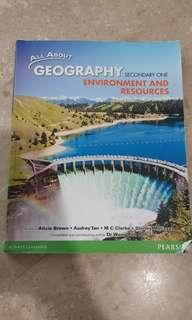 Geography for secondary 1 (Environment and Resources)