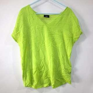 (S-M) Mossimo ladies tops, sheer front fabric, nice in actual