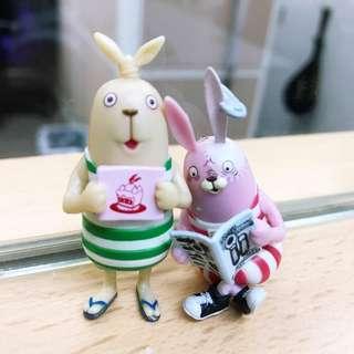 賤兔小公仔 ($20/ 2隻)