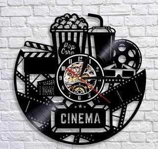 Cinema Wall Clock