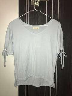 P&CO baby blue top