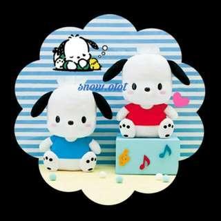 $220/對✦日版PC狗公仔☆BIG! 日本限定 Sanrio/Pochacco/plush/soft toy/kids doll/accessories