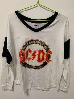 ac/dc pullover